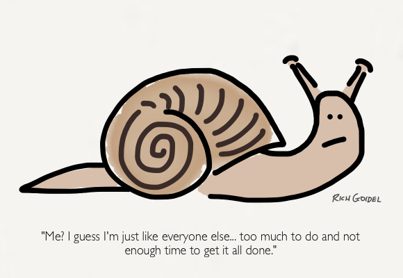 The Overwhelmed Snail